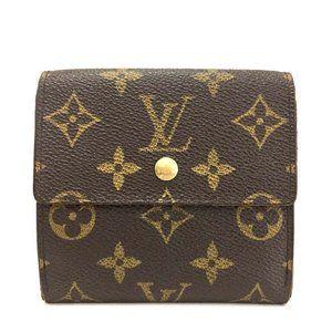 Auth Louis Vuitton Portefeiulle Elise #6057X86